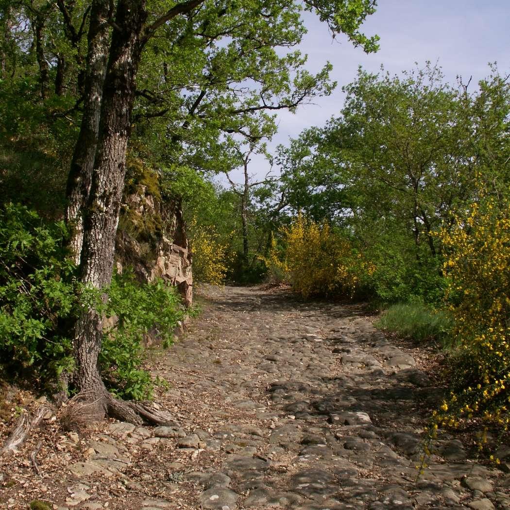 Saint-Auvent : Voie Romaine / Via Agrippa