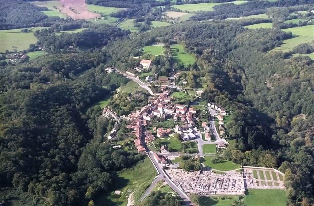 Saint-Auvent vu d'en haut