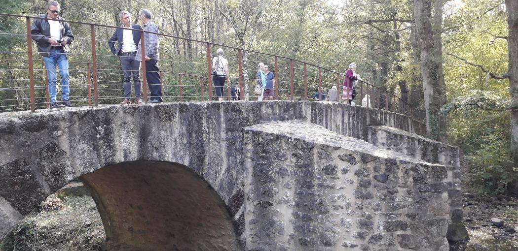 Le pont et le moulin de Lascaux